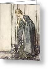 Helena, Illustration From Midsummer Greeting Card