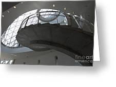 Helical Staircase Greeting Card