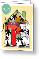 Hello Card Greeting Card