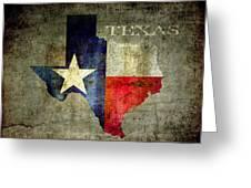 Hello Texas Greeting Card