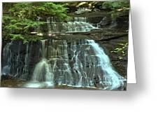 Hells Hollow Falls Greeting Card