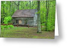 Helser Log House Greeting Card
