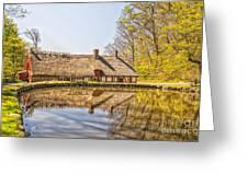 Helsingborg Cottage Millhouse Greeting Card