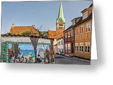 Helsingor Street Greeting Card