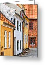 Helsingor Town Centre Greeting Card