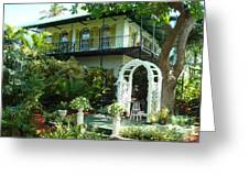 Hemingway House Greeting Card by Kay Gilley