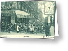 Hemingway's Paris 1925 Greeting Card