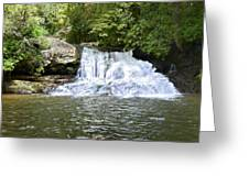 Hemlock Falls Greeting Card