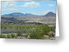 Henderson Nevada Desert Greeting Card