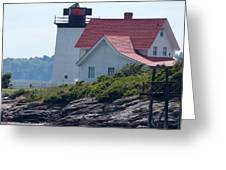 Hendricks Head Lighthouse Greeting Card