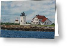 Hendricks Head Lighthouse Greeting Card