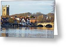 Henley-on-thames Greeting Card