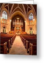 Hennepin Avenue Methodist Church Greeting Card