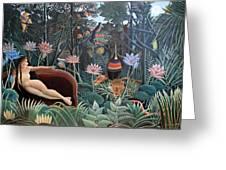 Henri Rousseau The Dream 1910 Greeting Card
