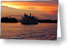 Henrietta II On The Cape Fear Greeting Card