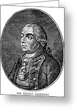 Henry Clinton (1738-1795) Greeting Card