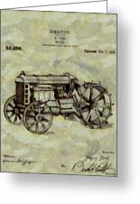 Henry Ford Tractor Patent Greeting Card