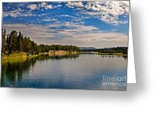 Henry Fork Of Snake River II Greeting Card by Robert Bales