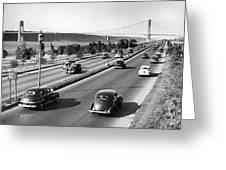 Henry Hudson Drive In New York Greeting Card