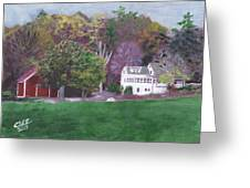 Henry Warren's Red Barn Greeting Card