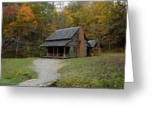 Henry Whitehead Place Cades Cove Gsmnp Greeting Card