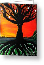 Her Roots Run Deep Greeting Card