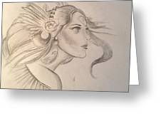 Hera Greeting Card