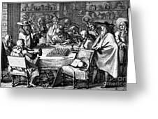 Herbal Medicine, 1676 Greeting Card