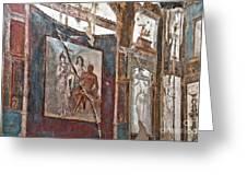 Herculaneum Wall Greeting Card