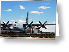 Hercules C--130 Greeting Card