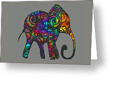 Herd Of Colors Greeting Card