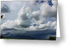 Here Comes The Storm Greeting Card