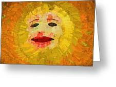 Here Comes The Sun One Greeting Card