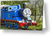 Here Comes Thomas The Train Greeting Card