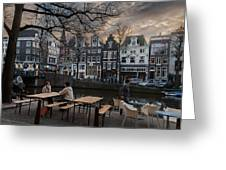 Kaizersgracht 451. Amsterdam. Holland Greeting Card