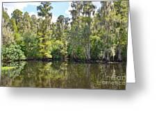 Heritage Boat Landing Greeting Card