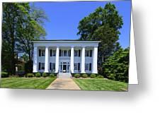 Heritage Hall In Madison Georgia Greeting Card