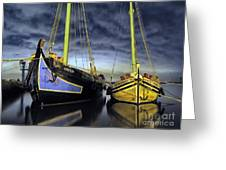 Heritage In Mirrored Water Greeting Card
