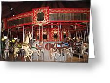 Heritage Looff Carousel Greeting Card