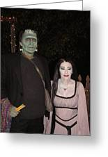 Herman And Lilly Munster Greeting Card