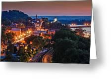 Hermann Missouri - A Most Beautiful Town Greeting Card