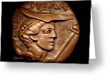 Hermes Or Mercury Greeting Card by Patricia Howitt