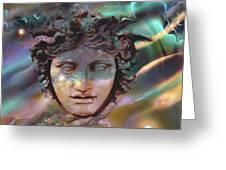Hermes Greeting Card by Ursula Freer
