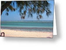 Hermitage - Ile De La Reunion - Reunion Island - Indian Ocean Greeting Card by Francoise Leandre