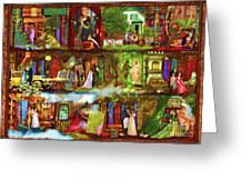 Heroes And Heroines Greeting Card