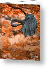 Heron Wonderland V3 Greeting Card