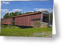 Herr Mill Covered Bridge Greeting Card