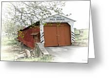 Herr's Mill Historic Bridge Greeting Card