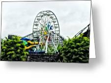 Hershey Park Ferris Wheel Greeting Card