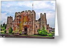 Hever Castle Greeting Card by Chris Thaxter
